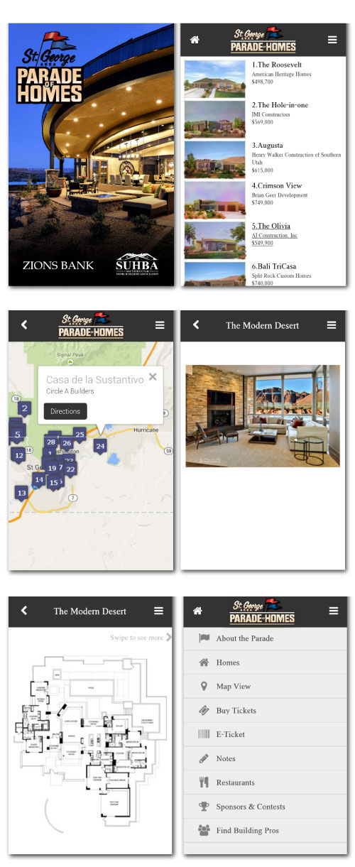 St. George Area Parade of Homes App